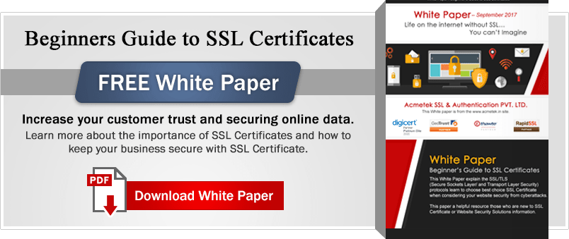 Beginners Guide to SSL Certificate
